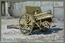 Obusier de montagne SKODA vz 14, 100 mm, WW2  - KIT IBG Models 1/35 n° 35026