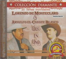 Lorenzo De Monteclaro Y Arnulfo El Coyote Blanco Dos En Uno  CD New Sealed