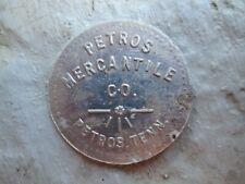 PETROS TENN. MERCANTILE CO. 50c COAL TOKEN R6