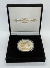 Dogecoin Silber Krypto Münze als Luxusgeschenk NEU