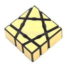 3D Irregular Gold Ghost Magic Cube Geschwindigkeit Würfel Twist Puzzle