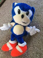 Vintage Tomy Sonic Hedgehog Soft Toy 12inches Tall