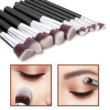 10pcs stile Kabuki Make Up Brush Set Cipria Fondazione Fard-Style 1