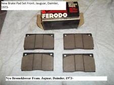 New Brake Pad Set Front. Jauguar, Daimler, 1973-