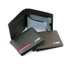 BMW M3 M4 M5 M6 M LOGO BROWN LUXURY MENS WALLET - WITH GIFT BOX