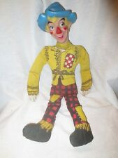 VINTAGE WIZARD OF OZ-SCARECROW DOLL- RP CO. CLOTH DOLL-COLLECTABLE!