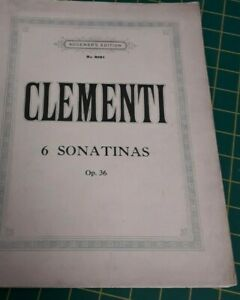 Vintage Music Sheet - Augeners Edition No, 8091 - Clementi