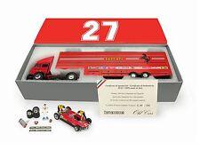 G. Villeneuve Race Transporter Set GP San Marino 1982 Villeneuve 1/43 TS05 BRUMM