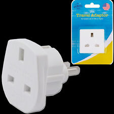 Worldwide UK To European China USA American Visitor Travel Plug Power Adapter