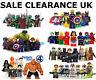 UKLego Super Heroes Minifigures + Custom Superhero Mini Figures Various MiniFigs