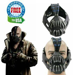 Batman The Dark Knight Rises Bane Cosplay Mask Costume Props Helmet Halloween