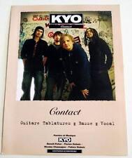 Partition sheet music KYO : Contact * 2005 Bass / Guitar / Vocal
