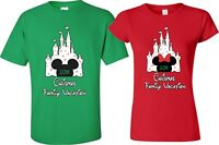New DISNEY Castle FAMILY Christmas Vacation 2019 T-Shirts, Minnie,Mickey