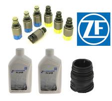 For BMW 325i X5 545i 525i Auto Trans Solenoid Valve Kit w/ Fluids+Sleeve OEM ZF