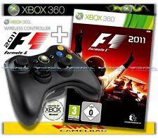 Original Microsoft Xbox 360 Wireless Controller und F1 Formula One 2011 Formel 1