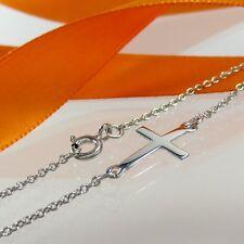 A673 Blogger Armband Armkette Kette Kreuz 925 Sterling Silber Schmuck Rhodiniert