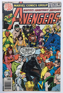 THE AVENGERS #181 Newsstand 1st Appearance of Scott Lang Ant-Man KEY 1979 FN 6.0