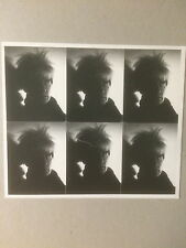 Andy Warhol, private view invito Card, Anthony d'offay Gallery, Londra, 1998