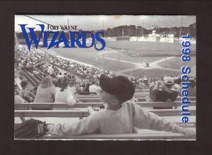 Fort Wayne Wizards--1998 Pocket Schedule--Kroger--Twins Affiliate
