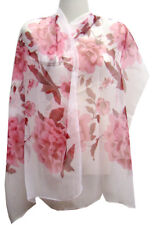 Chinese Apparel Chinese Silk Scarf - Flowers