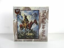 They Call Me Wolf - Native American Jigsaw Puzzle - 550 Pieces - Brand New
