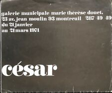 CESAR MUNICIPALE MARIE THERESE DOUET MONTREUIL 1971