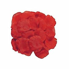 (200) Polyester Red Rose Petals Wedding Bridal Flowergirl Table Scatters Flower