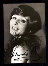 Ursula May Autogrammkarte Original Signiert ## BC 72534