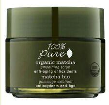 100% Pure Organic Matcha Anti-Aging Antioxidants Smoothing Scrub 4oz