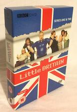 Little Britain Series 1 & 2 DVD 4-Disc Box Set 2005 Matt Lucas David Walliams