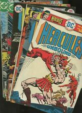 Hercules Unbound *# 1 to # 12 Complete Lot Run Comics series by Dc 1975-1977 Vf