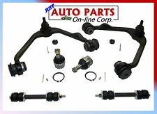 2 UPPER CONTROL ARMS 2 BALL JOINTS SWAY BAR FORD F-150 97-03 EXPEDITION 2WD ONLY