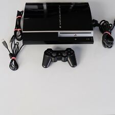 Sony PlayStation 3 80GB Piano Black Spielekonsole CECHL04 - PAL