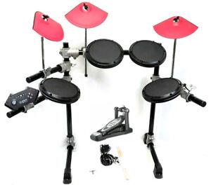 PS3 PS4 PS5 Rock Band ION Rocker ddrum Pro-Set *3X Pro-Cymbals*Kick Pedal*Sticks