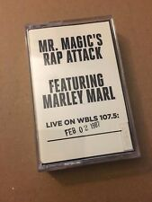 Mr Magic's Rap Attack W/ DJ Marley Marl 2-2-87 Cassette Mixtape 80s Tape