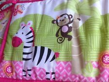 Garanimals  Baby Girls  Crib Bumper Pad  safari design polyester blend