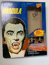 REMCO Count Dracula 9 ACTION FIGURE BOX Only With INSTRUCTIONS 1980
