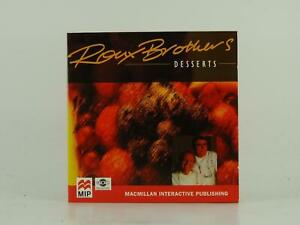 ROUX BROTHERS DESSERTS 2 CD MACMILLAN INTERACTIVE PUBLISHING COMPUTER SOFTWARE