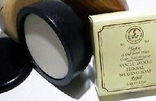 Taylor of Old Bond Street Sándalo Jabón de afeitado y Negro tazón de fuente 100g