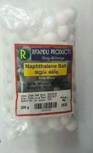 Napthalene Balls Pest Control Moth Balls (Kapuru Ball) Repellent Camphor Balls