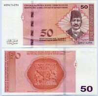 BOSNIA & HERZEGOVINA 50 MARAKA 2019 P 84 UNC