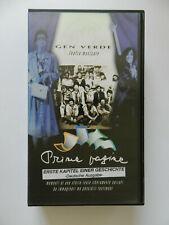 VHS Video Kassette Gen Verde Prime Pagine Erste Kapitel Deutsche Ausgabe