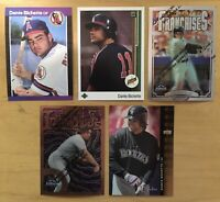 Dante Bichette (5) Cards Rookies & High End Colorado Rockies
