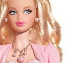 BARBIE no silkstone BIRTHSTONE BEAUTIES  MISS OPAL NRFB October collezione