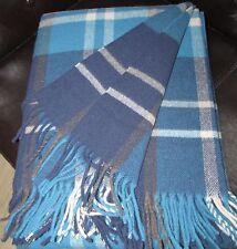 laine couverture, Couvre-lit, canapé-couverture 135x190 cm mit 100% laine