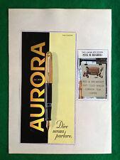 PB2 Pubblicità Advertising Werbung Clipping - AURORA PENNE BIRO STYLO