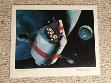VINTAGE AVIATION COLLECTION-NASA APOLLO PRINTS-LOT OF 5 GREAT CONDITION!!