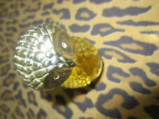 COLLECTIBLE AVON PERFUME BOTTLE OWL SWEET HONESTY COLOGNE 1 FL OZ EXCELLENCE