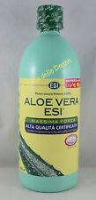 ESI ALOE Vera 1000ml SUCCO PURO FRESCO 100% massima forza qualità juice pure