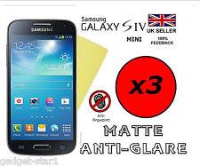 3x Hq Mate Anti Glare Screen Protector Tapa Protector Samsung Galaxy S4 Mini I9190